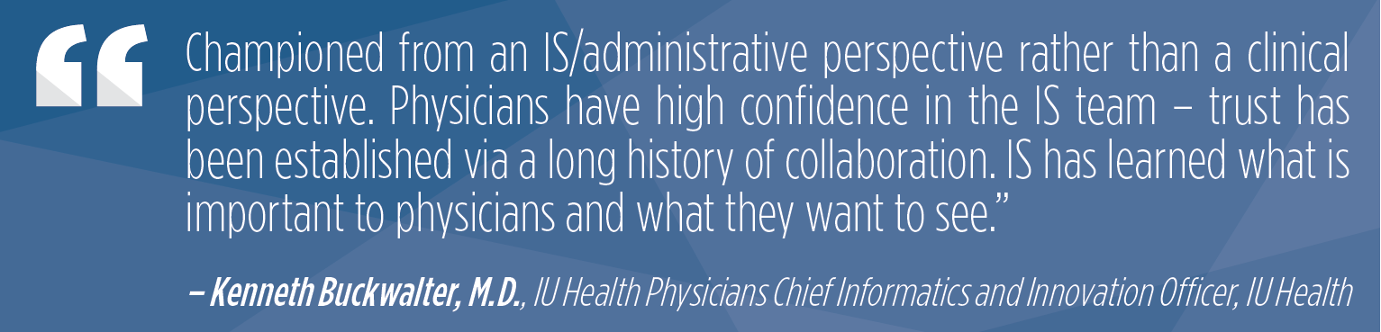 Technology Integration at Leading Health Systems - Vendor